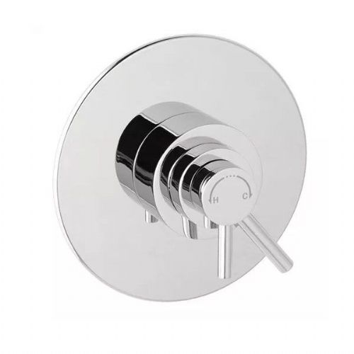 Eastbrook Thermostatic Concealed Dual Lever Shower Valve - Chrome